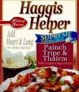 Haggis Helper